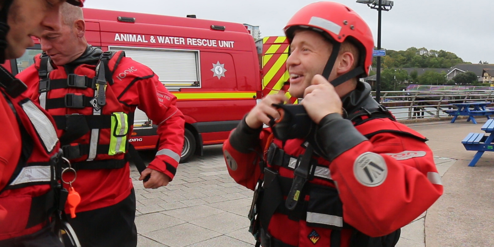 Matt smith water rescue