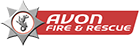 Avon Fire & Rescue Service logo and link to homeapge